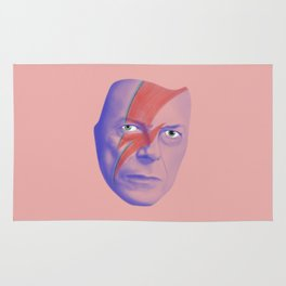 Bowie forever Rug