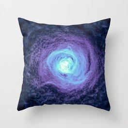 Endless Wormhole Throw Pillow