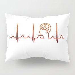 Neurologist Heartbeat Pillow Sham