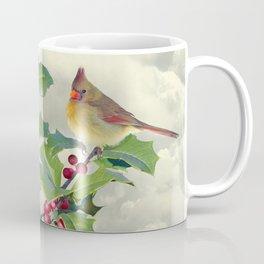 Cardinals on Tree Top Coffee Mug