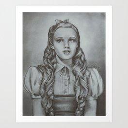 Dorothy - Judy Garland | Drawing Art Print