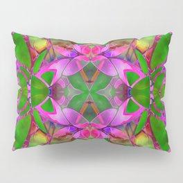 Floral Fractal Art G374 Pillow Sham