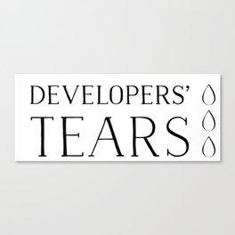 Developers' Tears Vicious Canvas Print