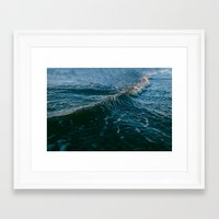 gravity Framed Art Prints featuring Gravity by Leah Flores