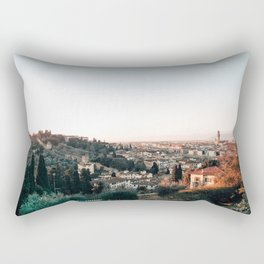 Florence Skyline Rectangular Pillow