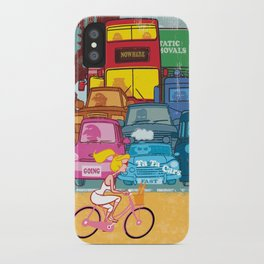 Going Nowhere Fast! iPhone Case