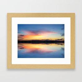 A Delightful Calm Framed Art Print