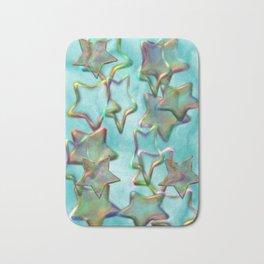 Marbled Stars Bath Mat