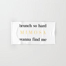 Brunch for Mimosas Hand & Bath Towel
