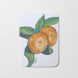 Two Oranges Bath Mat