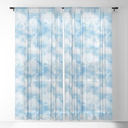 Cloud Sheer Curtain