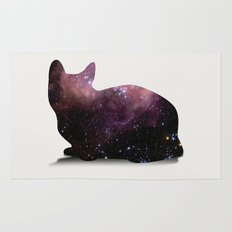 Willow the Galaxy Cat! Rug