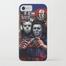 Horror Villains Selfie iPhone 7 Slim Case