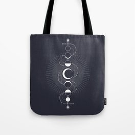 The Moon Fluctuation Tote Bag