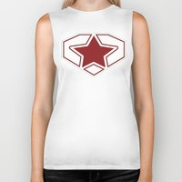 superheroes Biker Tanks featuring Superheroes! by EloisaD