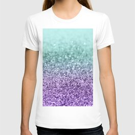 Mermaid Girls Glitter #9 #shiny #decor #art #society6 T-shirt