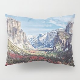 Tunnel View Yosemite Valley Pillow Sham