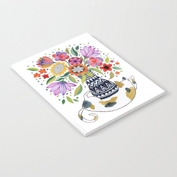 Calico Bouquet Notebook