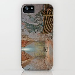 Abandoned Prison Cell iPhone Case