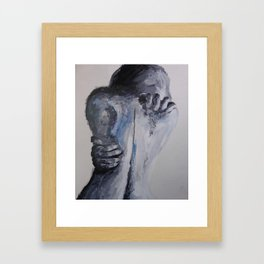 Hold Onto Me Framed Art Print