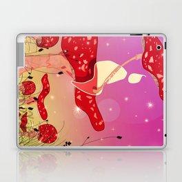 Midnight Raindrop Laptop & iPad Skin