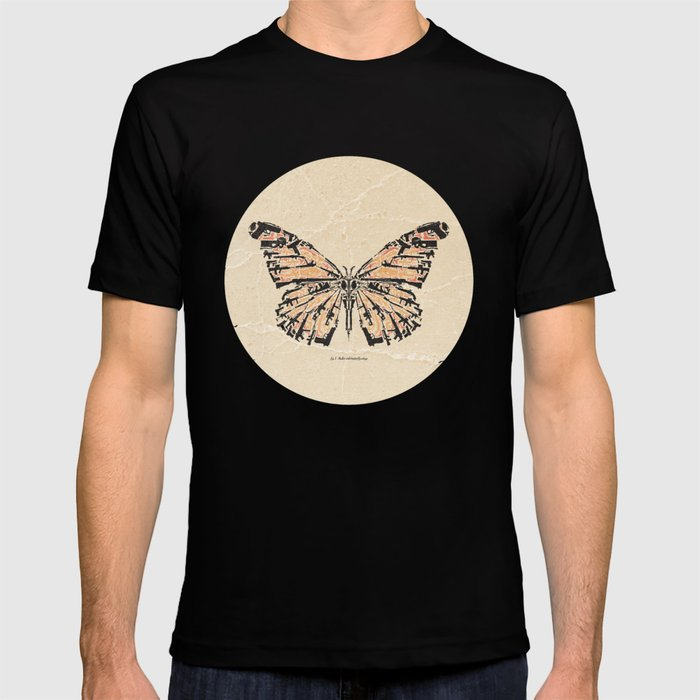 339576a202af9b Bullet with Butterfly Wings T-shirt by milofirewater