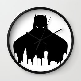 Gotham's Bat-Man Wall Clock