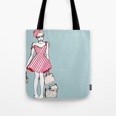 Frazzled Shopper Tote Bag