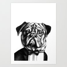 Puglass Art Print