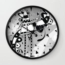 Sir Triangle Wall Clock