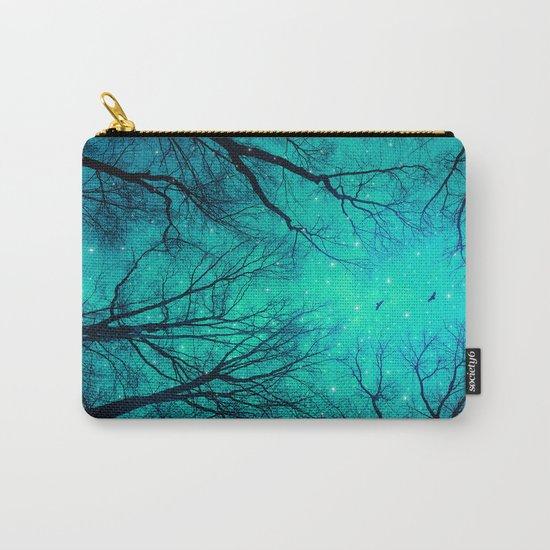 A Certain Darkness Is Needed II (Night Trees Silhouette) Carry-All Pouch