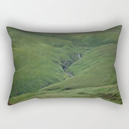 Green Carpet Rectangular Pillow