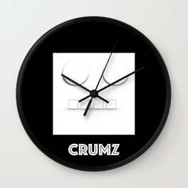 CRUMZ - Silly Robot - Bad Robot Wall Clock