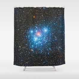 The Jewel Box Kappa Crucis Star Cluster NGC 4755 Shower Curtain