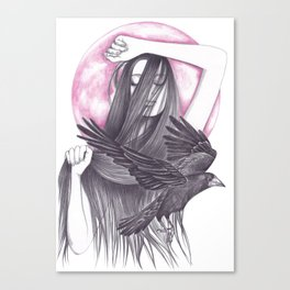 Crow Dance Canvas Print