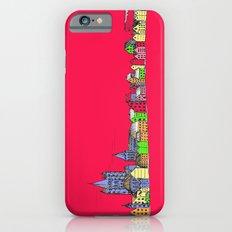Sketchy Town in pink iPhone 6s Slim Case