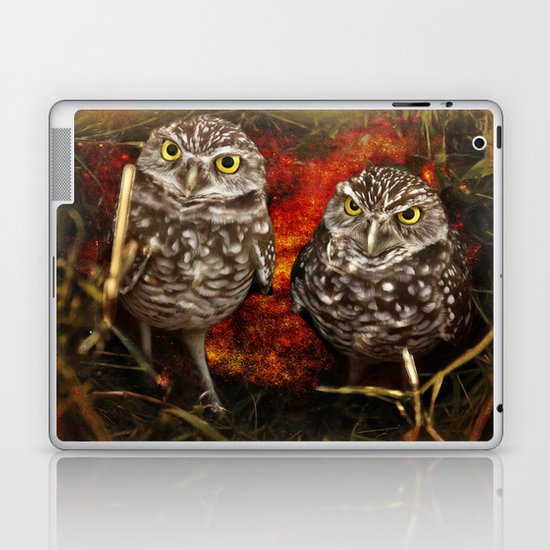 Burrowing owls Laptop & iPad Skin