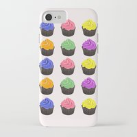 cupcakes iPhone & iPod Cases featuring Cupcakes by kourai