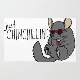 Just Chinchillin' Rug
