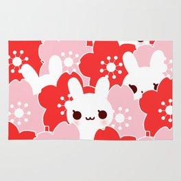 Sakura Bunny Rug