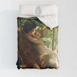 "Pierre Auguste Cot ""Springtime"" Comforters"