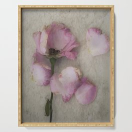 Wilted Rose Serving Tray