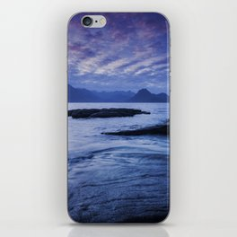 Sunset Over the Cuillin III iPhone Skin