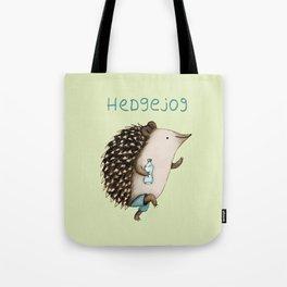 Hedgejog Tote Bag