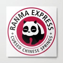 Ranma Express Metal Print