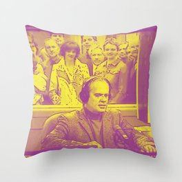 Goodnight From Seattle Throw Pillow