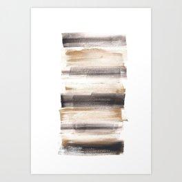 [161216] 9. Solid |Watercolor Brush Stroke Art Print