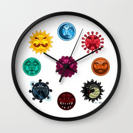 Astrologicality  Wall Clock