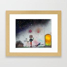 """The Cuben"" Framed Art Print"