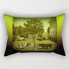 CowCurios 02 Rectangular Pillow
